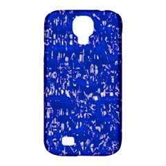 Glossy Abstract Blue Samsung Galaxy S4 Classic Hardshell Case (PC+Silicone)