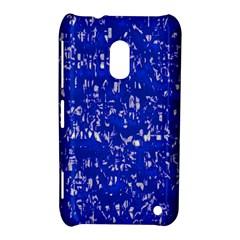 Glossy Abstract Blue Nokia Lumia 620
