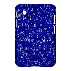 Glossy Abstract Blue Samsung Galaxy Tab 2 (7 ) P3100 Hardshell Case