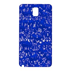 Glossy Abstract Blue Samsung Galaxy Note 3 N9005 Hardshell Back Case