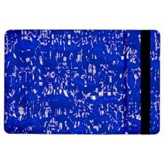 Glossy Abstract Blue Ipad Air 2 Flip