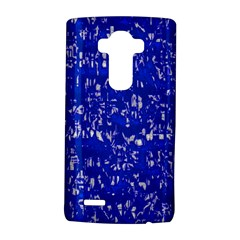 Glossy Abstract Blue LG G4 Hardshell Case