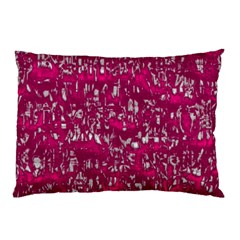Glossy Abstract Pink Pillow Case