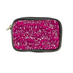 Glossy Abstract Pink Coin Purse