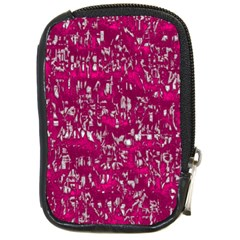 Glossy Abstract Pink Compact Camera Cases
