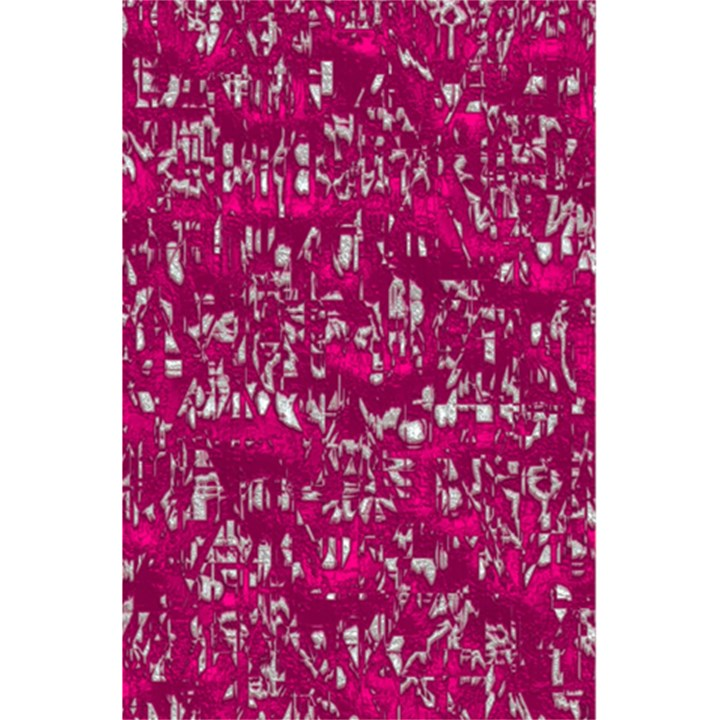Glossy Abstract Pink 5.5  x 8.5  Notebooks