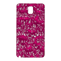 Glossy Abstract Pink Samsung Galaxy Note 3 N9005 Hardshell Back Case