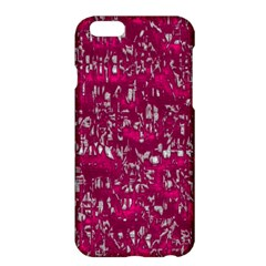 Glossy Abstract Pink Apple iPhone 6 Plus/6S Plus Hardshell Case