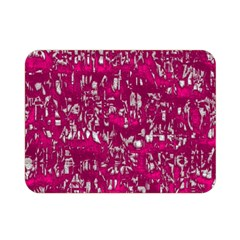Glossy Abstract Pink Double Sided Flano Blanket (Mini)