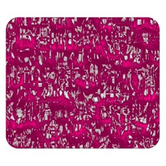 Glossy Abstract Pink Double Sided Flano Blanket (small)