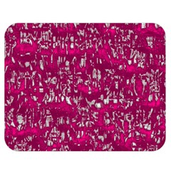 Glossy Abstract Pink Double Sided Flano Blanket (medium)