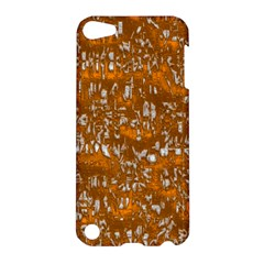 Glossy Abstract Orange Apple iPod Touch 5 Hardshell Case
