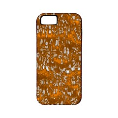 Glossy Abstract Orange Apple iPhone 5 Classic Hardshell Case (PC+Silicone)