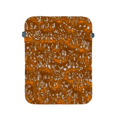 Glossy Abstract Orange Apple iPad 2/3/4 Protective Soft Cases