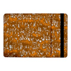 Glossy Abstract Orange Samsung Galaxy Tab Pro 10.1  Flip Case