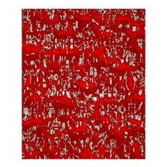Glossy Abstract Red Shower Curtain 60  x 72  (Medium)