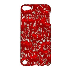 Glossy Abstract Red Apple iPod Touch 5 Hardshell Case