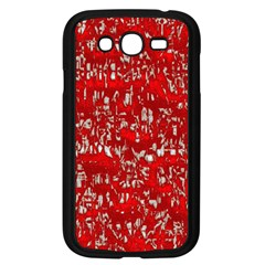 Glossy Abstract Red Samsung Galaxy Grand DUOS I9082 Case (Black)