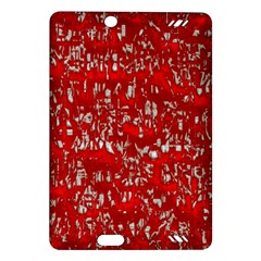 Glossy Abstract Red Amazon Kindle Fire HD (2013) Hardshell Case