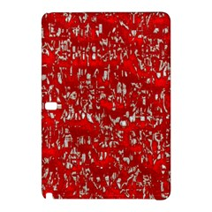 Glossy Abstract Red Samsung Galaxy Tab Pro 12.2 Hardshell Case