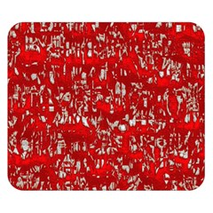 Glossy Abstract Red Double Sided Flano Blanket (Small)