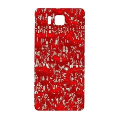 Glossy Abstract Red Samsung Galaxy Alpha Hardshell Back Case