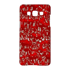 Glossy Abstract Red Samsung Galaxy A5 Hardshell Case