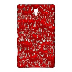 Glossy Abstract Red Samsung Galaxy Tab S (8.4 ) Hardshell Case