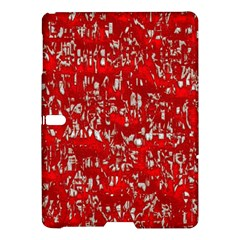 Glossy Abstract Red Samsung Galaxy Tab S (10.5 ) Hardshell Case