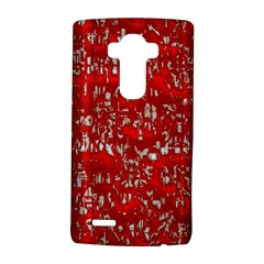Glossy Abstract Red LG G4 Hardshell Case