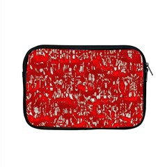 Glossy Abstract Red Apple MacBook Pro 15  Zipper Case