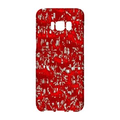 Glossy Abstract Red Samsung Galaxy S8 Hardshell Case