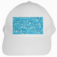 Glossy Abstract Ocean White Cap