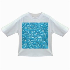 Glossy Abstract Ocean Infant/Toddler T-Shirts