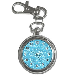 Glossy Abstract Ocean Key Chain Watches