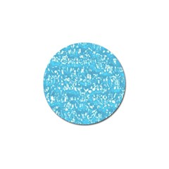 Glossy Abstract Ocean Golf Ball Marker (4 pack)