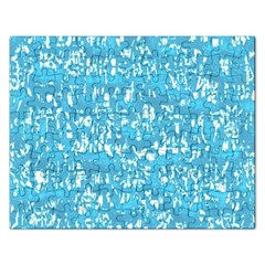 Glossy Abstract Ocean Rectangular Jigsaw Puzzl