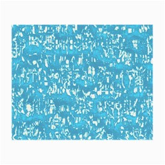 Glossy Abstract Ocean Small Glasses Cloth (2-Side)