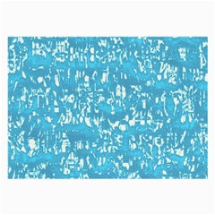 Glossy Abstract Ocean Large Glasses Cloth