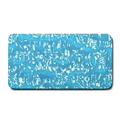 Glossy Abstract Ocean Medium Bar Mats