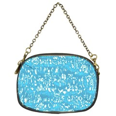 Glossy Abstract Ocean Chain Purses (One Side)