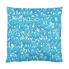 Glossy Abstract Ocean Standard Cushion Case (One Side)