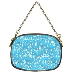 Glossy Abstract Ocean Chain Purses (Two Sides)