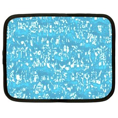 Glossy Abstract Ocean Netbook Case (XL)