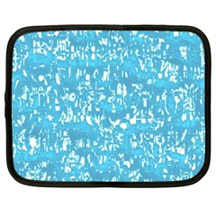 Glossy Abstract Ocean Netbook Case (XXL)