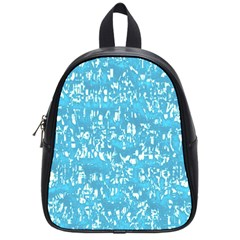 Glossy Abstract Ocean School Bags (small)