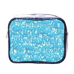 Glossy Abstract Ocean Mini Toiletries Bags