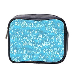 Glossy Abstract Ocean Mini Toiletries Bag 2-Side