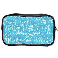 Glossy Abstract Ocean Toiletries Bags