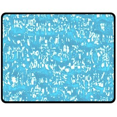 Glossy Abstract Ocean Fleece Blanket (Medium)